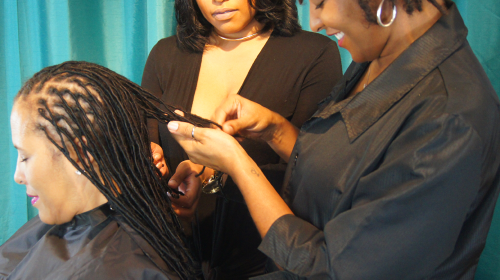 Private Training for Locs with Jocelyn Reneé at NuGrowth Salon